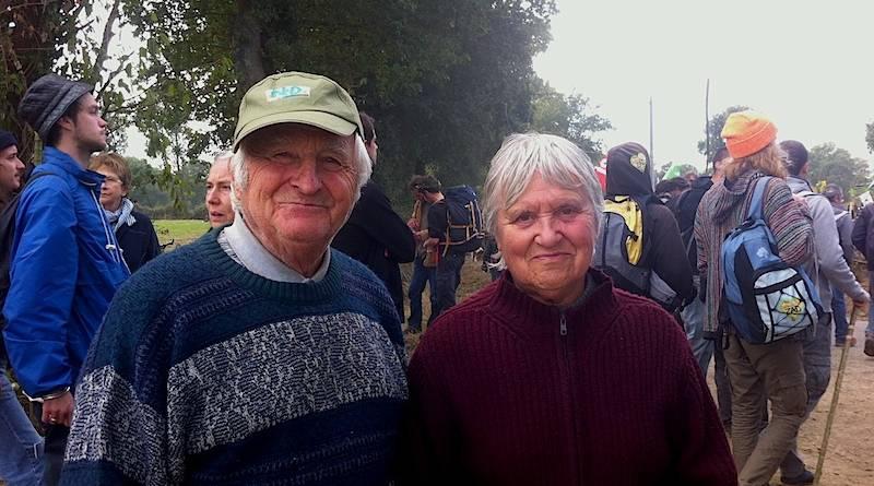 """Paul et Denise, agriculteurs retraités et """"Zadistes"""""""