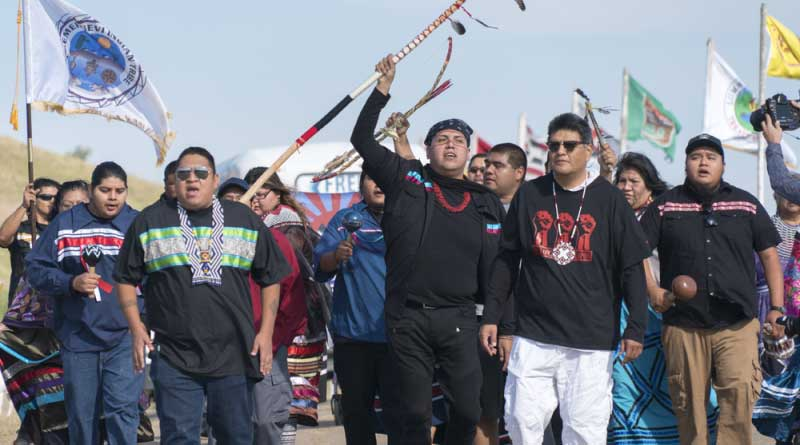 Manifestations des opposants au pipeline Dakota Access
