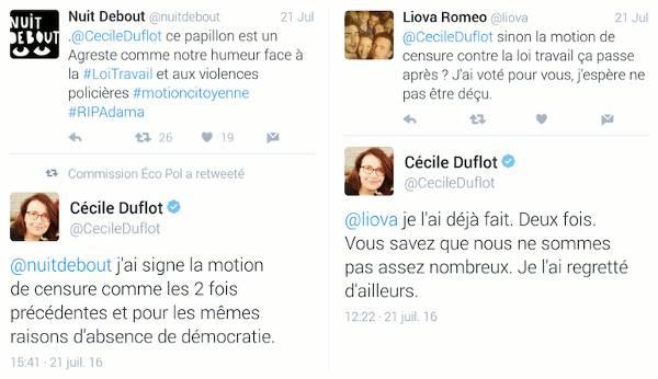 Après un coup de projecteur médiatique, Cécile Duflot annonce qu'elle signe