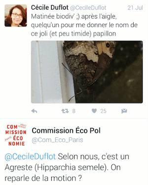 Cécile Duflot n'avait pas les mêmes préoccupations que nous