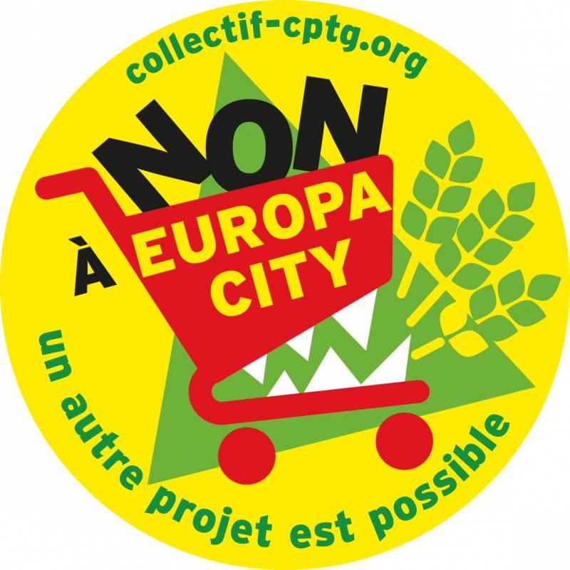 Le logo pour dire Non à Europa City