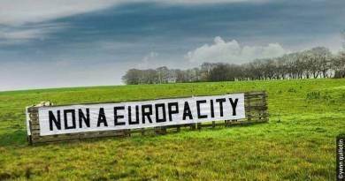 Des légumes, pas du bitume! Contre le projet Europacity le 8 octobre