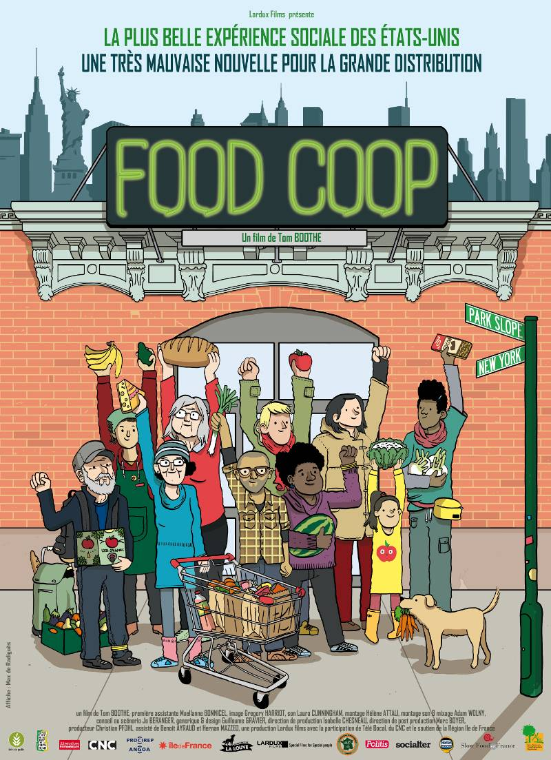 Affiche documentaire Food Coop