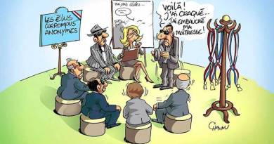 Rassemblements contre la corruption dans toute la France