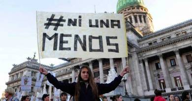 Les Argentines manifestent contre le capitalisme patriarcal