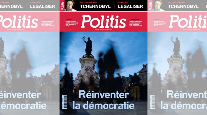 couverture Politis n°1400
