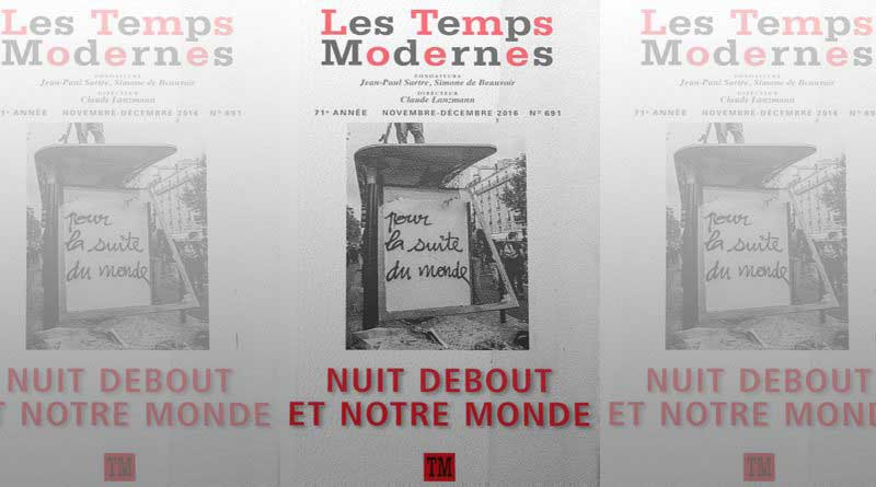 Revue Temps Modernes n° 691