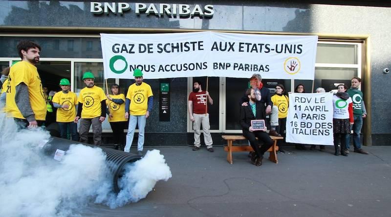 Fuite de Gaz à la BNP