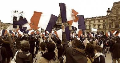 Ma soirée au Louvre avec Macron