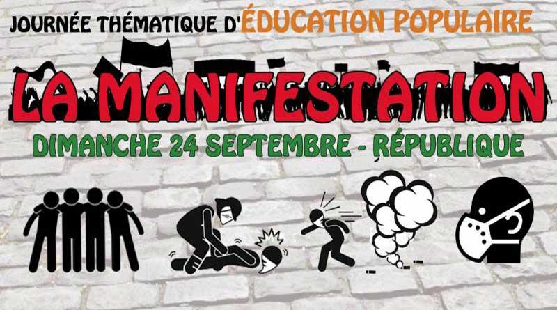 Journée thématique educpop : la manifestation (24 septembre)